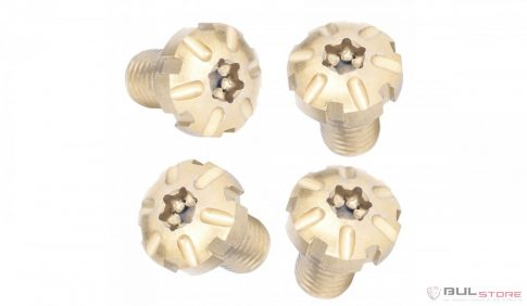 Torx grip screws - Golden titanium