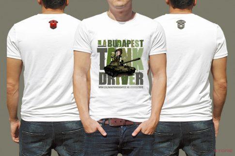 Cold War Park Budapest T-shirt
