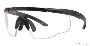 SABER ADVANCED CLEAR LENS/MATTE BLACK FRAME